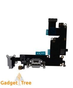 Charging Port USB Connector Dock Headphone Jack Flex Cable for iPhone 6Plus Black