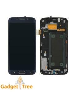 Samsung Galaxy S6 Edge LCD Screen [With Frame] Dark