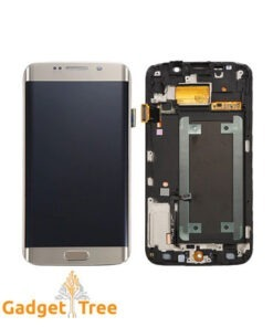 Samsung Galaxy S6 Edge LCD Screen [With Frame] Gold